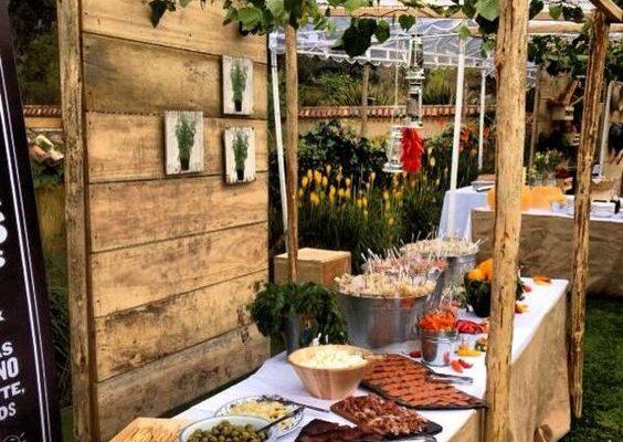 El estilo del banquete según el estilo de la boda