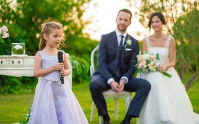 5 ventajas de celebrar una boda con hijos