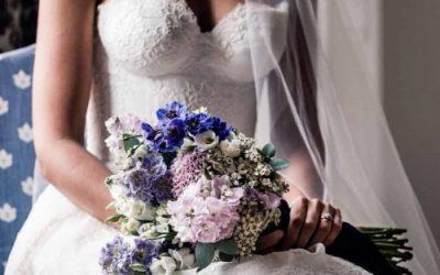 El significado de las flores del ramo de la novia