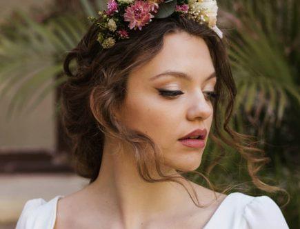 Maquillaje de Novia de invierno