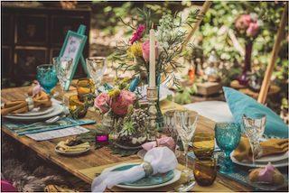 Decoración y flores para una boda de primavera