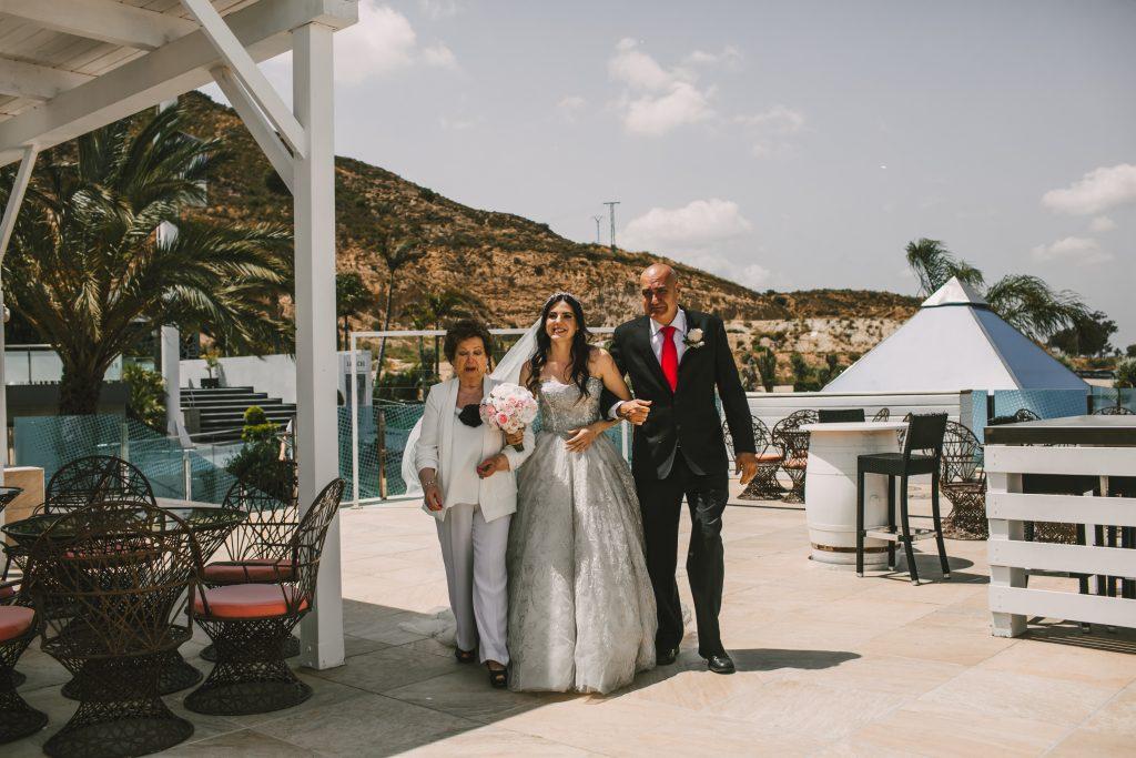entrada novia ceremonia