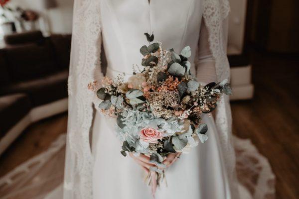 ramos preservados boda