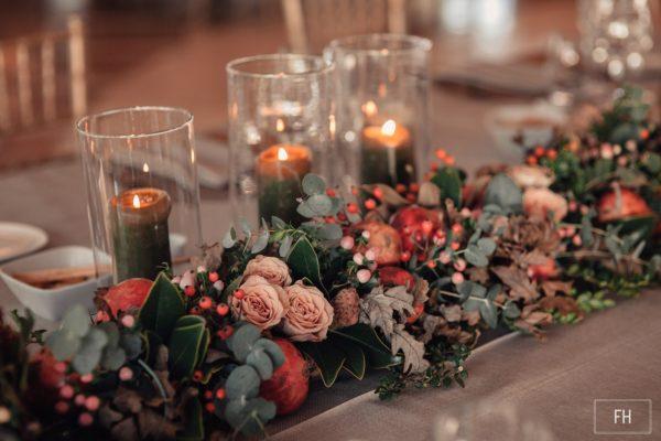 decorar boda de invierno